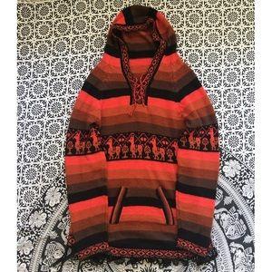 Peruvian Alpaca wool hoodie•